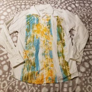 Poggianti 1958 Mens Long Sleeve Shirt Size XXL